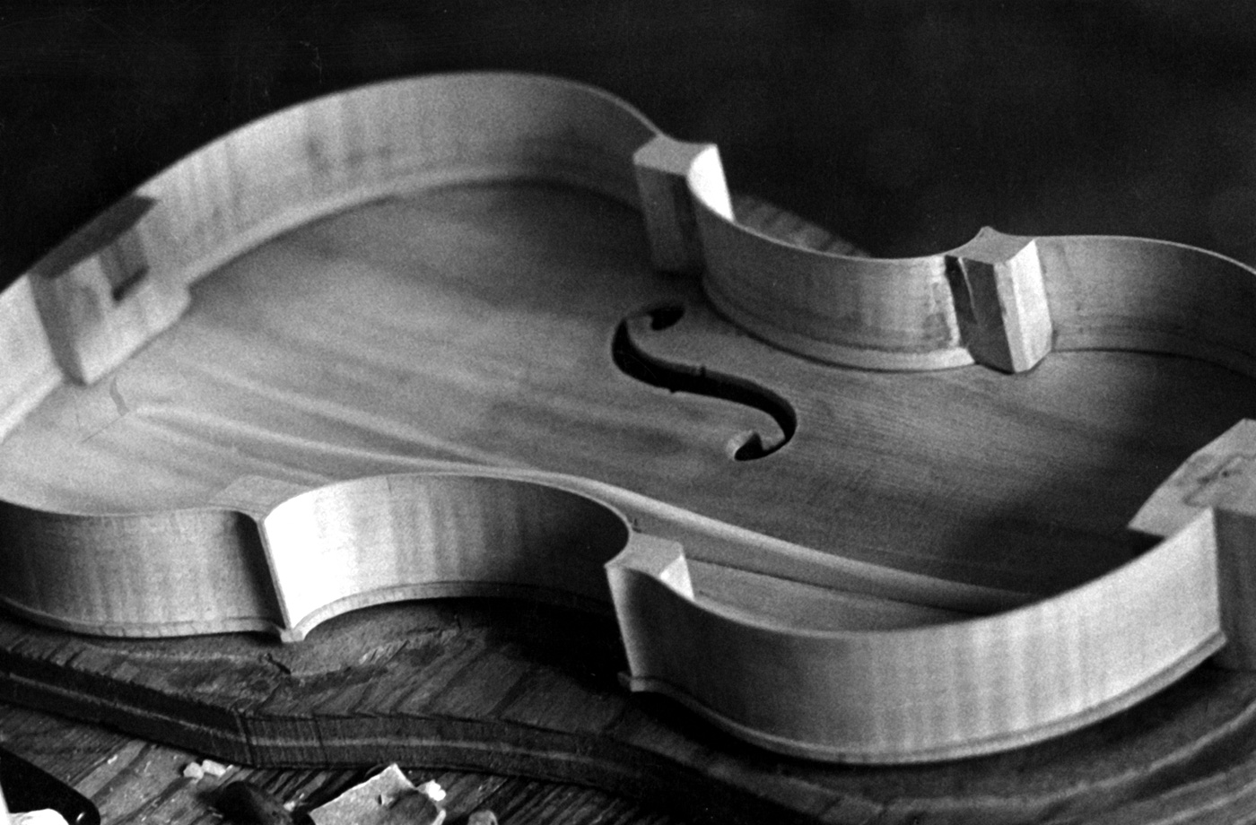 Violin in Progress